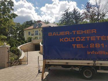 Bauer költöztetés